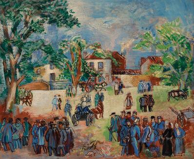 Jean Dufy, 'Marche au Limousin', 1929