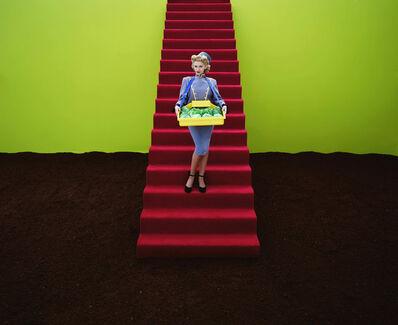 David Stewart, 'Cabbage Girl', 1995