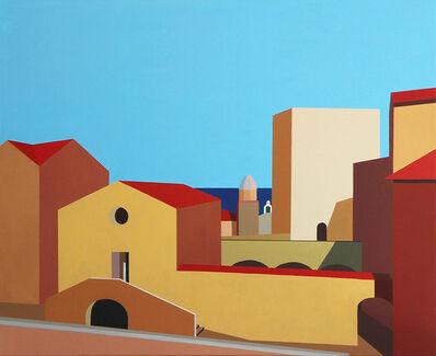 Marcos Peinado, 'Collioure, la cour du château', 2016