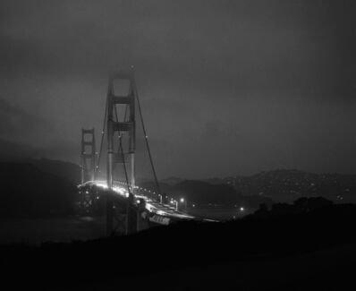 Christine Huhn, 'The Golden Gate at Night, California', 2020