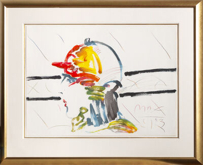 Peter Max, 'The Jockey (Unique)', 1983
