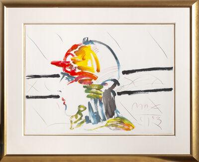 Peter Max, 'The Jockey (Unique)', 1983
