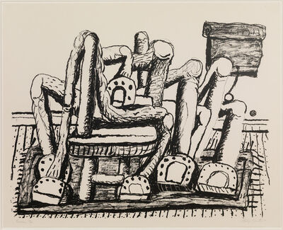 Philip Guston, 'Room', 1980