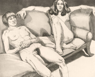 Philip Pearlstein, 'Untitled', 1971