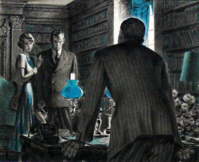 Edwin Georgi, 'Date with Death', ca. 1950