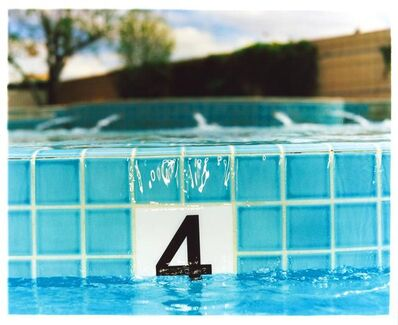 Richard Heeps, '4FT, El Morocco Pool, Las Vegas - Small', 2001