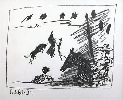 Pablo Picasso, 'Jeu de la Cape (III), from A Los Toros Avec Picasso', 1961