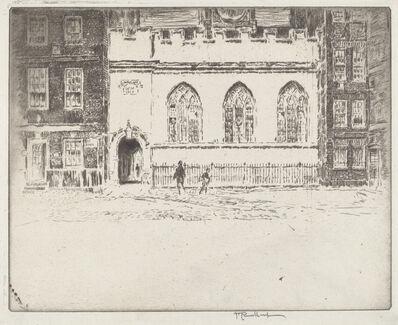 Joseph Pennell, 'Clifford's Inn Hall', 1907
