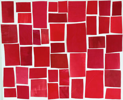Melissa McGill (b. 1969), 'Color Study - Red Regatta', 2019