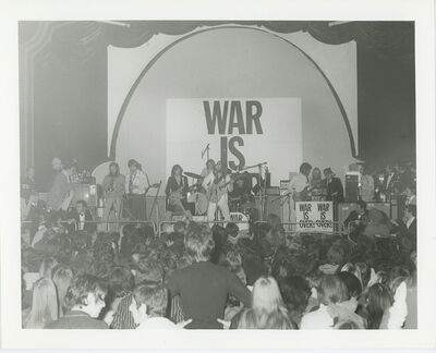 "Globe Photo Archives, 'Plastic Ono Band ""Peace for Christmas"" Concert 1969', 1969"