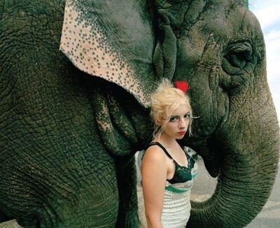 Jimmy & Dena Katz, 'Natalie and Elephant, New Jersey', 2008
