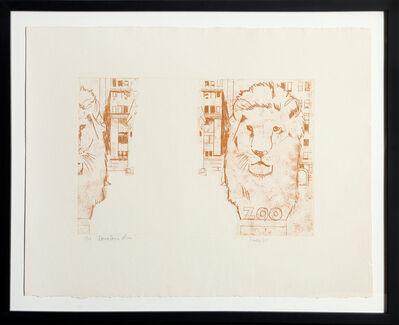 Larry Rivers, 'Downtown Lion', 1967