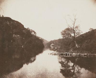 William Henry Fox Talbot, 'Loch Katrine Pier, Scene of the Lady of the Lake', 1844
