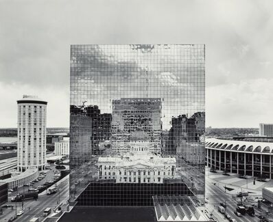 William Clift, 'Reflections, Old St. Louis County Courthouse, St. Louis, Missouri', 1976