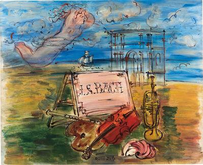 Raoul Dufy, 'Hommage à Bach', ca.1946