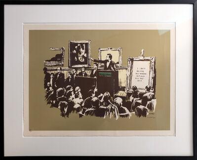 Banksy, 'Sepia Morons signed', 2007