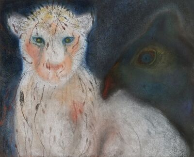 Jan Harrison, 'Night Cat with Foliage Fur', 2013