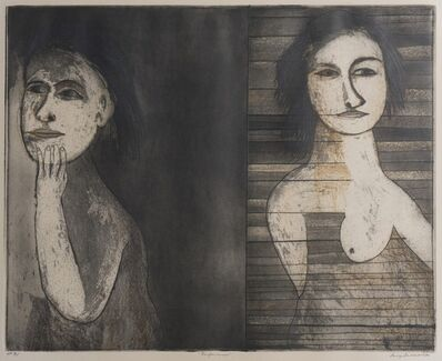 George Baldessin, 'Performers', 1974