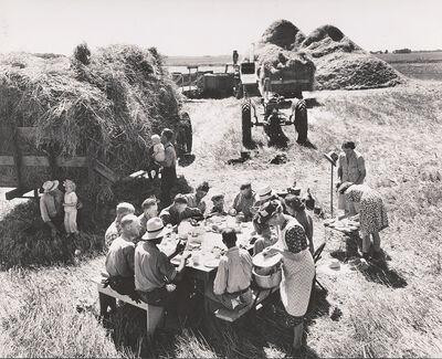 Gordon Coster, 'Harvest Near Grand Forks, Minnesota', 1943/1979