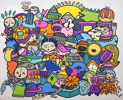 Kev Munday, 'Candles, Clocks & Changes', 2018