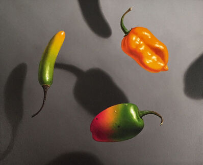 Otto Duecker, 'Three Hot Peppers', 2018