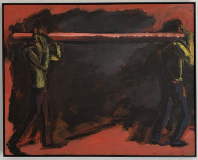 Bernd Koberling, 'Strandarbeiter', 1983