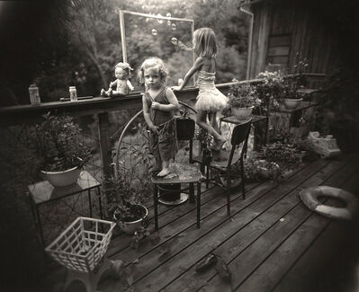 Sally Mann, 'Blowing Bubbles (from the Immediate Family Series)', 1987