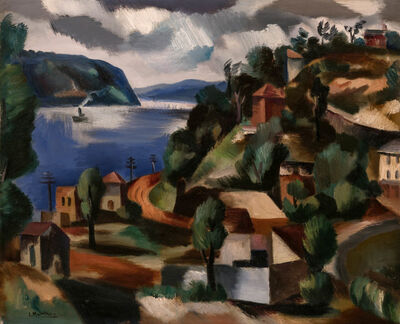 Jan Matulka, 'Storm King Mountain', circa 1932