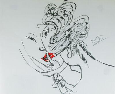Ushio Shinohara 篠原 有司男, 'Lipstick Geisha', 2009