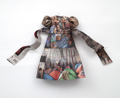 Andrea Lilienthal, 'New York Times Little Dress XI', 2019