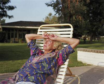 Larry Sultan, 'My Mother on Chaise Lounge, from the series Pictures from Home ', 1987