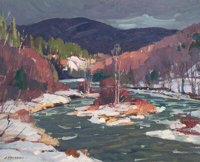 Aldro Thompson Hibbard, 'Gathering Storm, Vermont', 20th Century