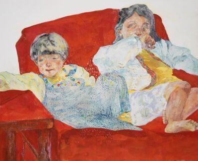 Yo Ishihara, 'Red sofa', 2019