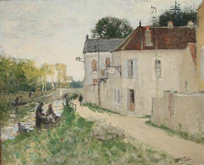 Pierre Montézin, 'Les bords de l'Yonne, à Changis', Unknown