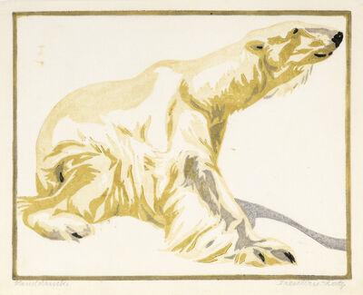Norbertine Bresslern-Roth, 'Poar Bear', 1921