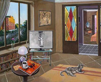 Sergio Ceccotti, 'Un pomeriggio in casa', 2015