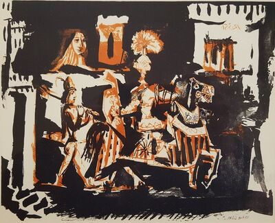 Pablo Picasso, 'Cavalier', 1962