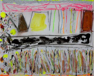 Joyce Weinstein, 'Winter Counrty Fields with a Yellow', 2016