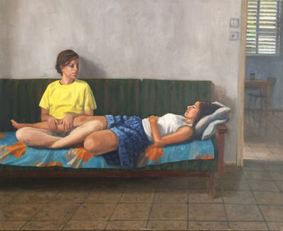 Alex Tubis, 'Elinor and Danna', 2018