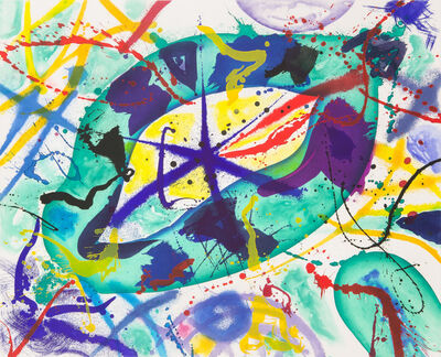 Sam Francis, 'Trietto I', 1991