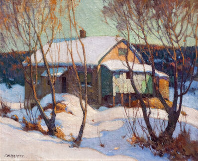 John William Beatty, 'Old House Humber Vallery', 1918