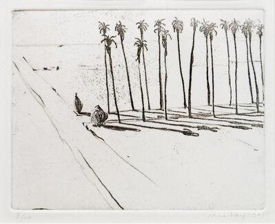 Wayne Thiebaud, 'Palm Road', 1985