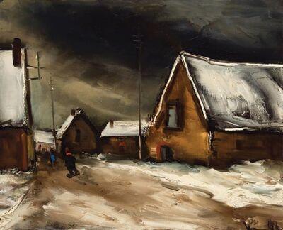 Maurice de Vlaminck, 'Village sous la Neige'
