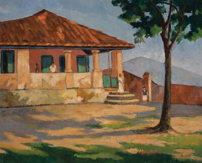 Milton Dacosta, 'House with Covered Porch', 1936