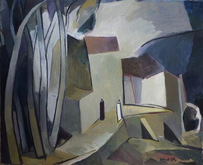 Joan Capella, 'Caserío entre árboles'