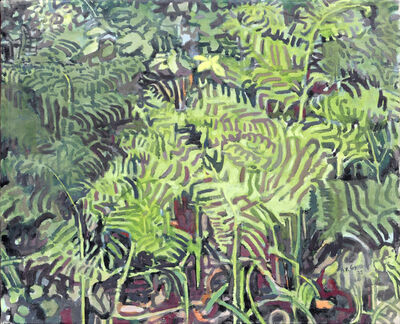 Anthony Gross, 'Small Ferns', 1975