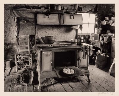 Roger Minick, 'Untitled [Interior with woodstove]', 1973