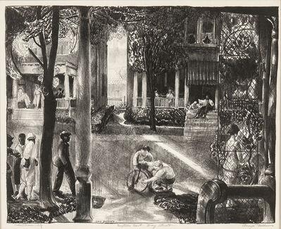 George Wesley Bellows, 'Sixteen East Gay Street', 1923-24
