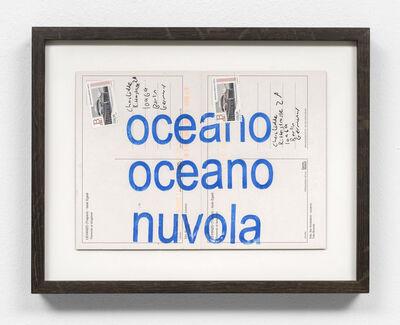 David Horvitz, 'oceano oceano nuvola  ', 2018