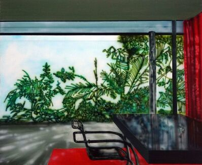 Eamon O'Kane, 'Villa Tugenhadt With Red Curtain (Mies Van De Rohe)', 2019